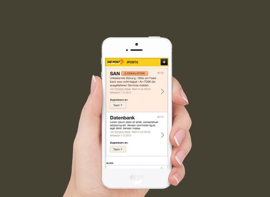 Die Schweizerische Post Unabhängige Plattform für die Notfallkommunikation