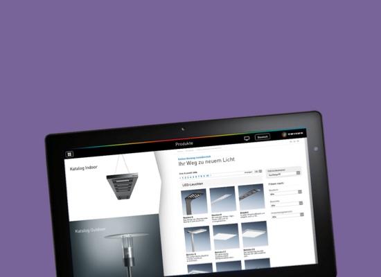 TRILUX GmbH & Co. KG TRILUX Tablet Verkaufsanwendung