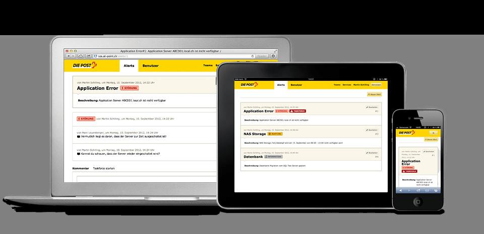 Unabhängige Plattform für die Notfallkommunikation