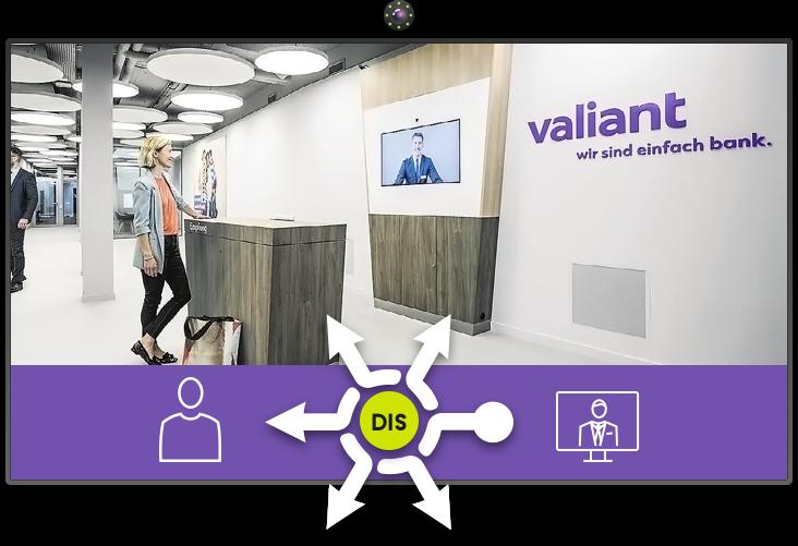Multi-DIS für Valiant Bank